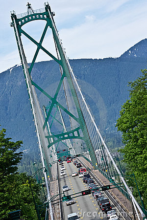 Crossing Lions Gate Bridge