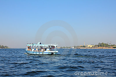Crossing of the Nile in Egypt