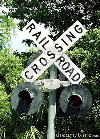 Crossing railroad