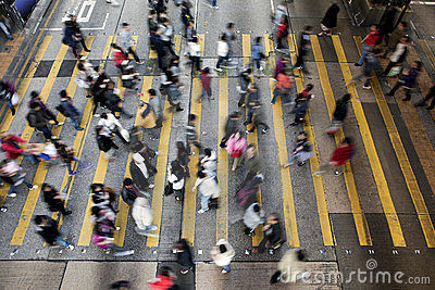 CrossingHong Kong gata