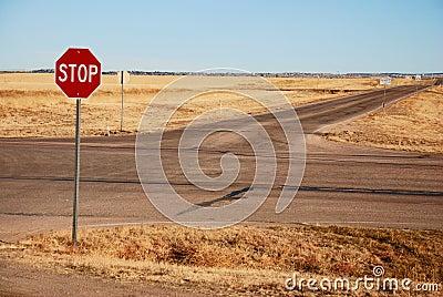Crossroads (Stop sign)