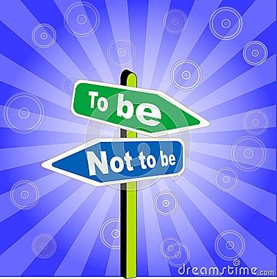 Crossroads symbolizes a choice of the future