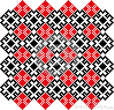 CrossStich-belorussian-slavic-pattern