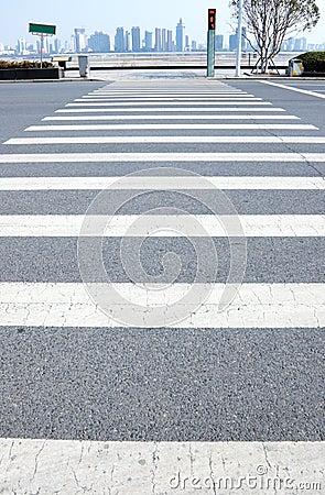 Crosswalk line