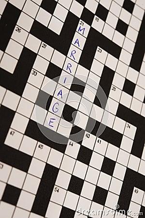 Crossword małżeństwo