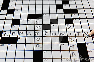 Crossword sposobność