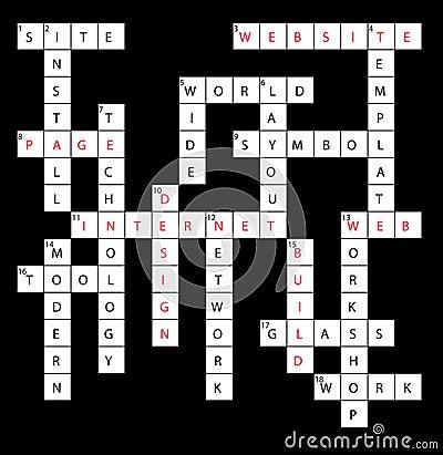 Crossword web design