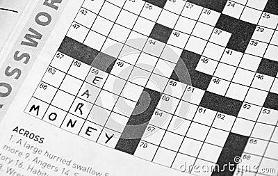 Crosswords: Earn Money