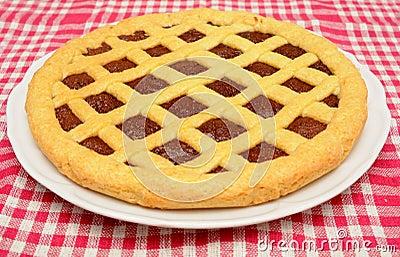 Crostata hecho en casa