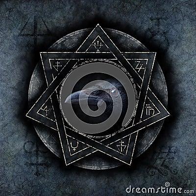 Free Crow Magic Stock Images - 85488934