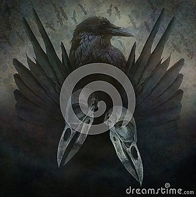 Free Crow Spirit Stock Photo - 53908100