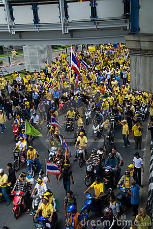 Crowd of demonstrators Editorial Image