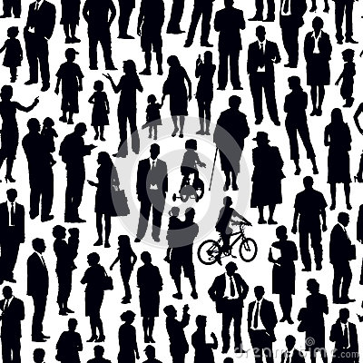 Free Crowd Of People Stock Images - 27627014