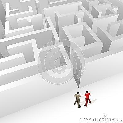 Crowd Source - Maze Strategy