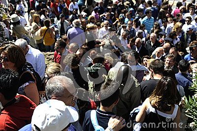 Crowded Editorial Stock Image