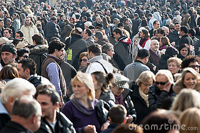 Crowds Editorial Stock Photo