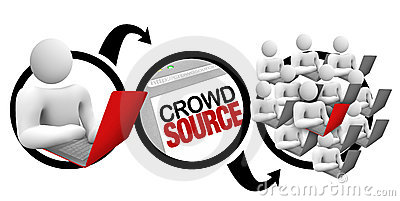 Crowdsourcing - Diagram of Crowd Source Project