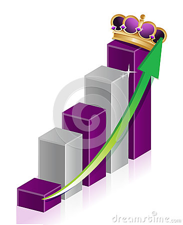 Crown business graph