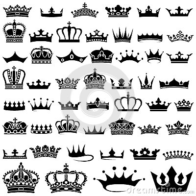Free Crown Collection Stock Images - 30598534