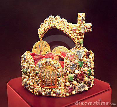 Crown of the emperor of hapsburg monarchy