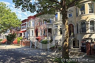 Crown Heights Brick Townhouses
