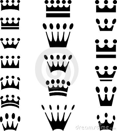 Crown icons simple