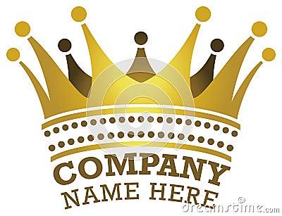 Crown Logo Vector Illustration