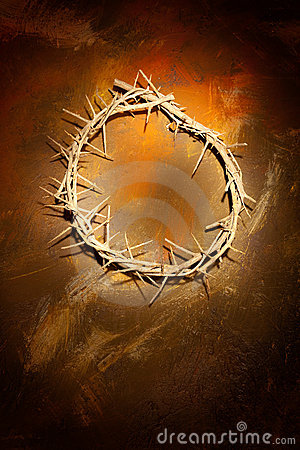 Free Crown Of Thorns On Wall Royalty Free Stock Photos - 7882108