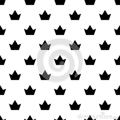 Free Crown Pattern Seamless Vector Royalty Free Stock Photography - 133460817