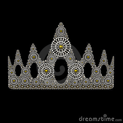 Free Crown Symbol Jewelry Ornament Design Royalty Free Stock Photo - 23994675