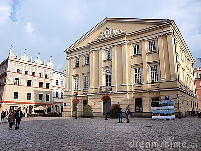 Crown Tribunal, Lublin, Poland Editorial Stock Image