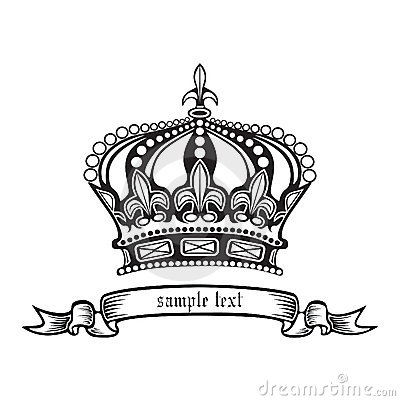 Crown. Vector Illustration Eps.10. Stock Photos - Image: 21145523