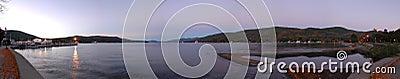 Crépuscule de George de lac