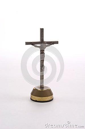 Crucifijo del tablero de instrumentos