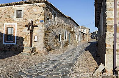 A Crucifix at Castrillo de los Polvazares