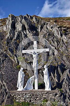 Crucifix, Dingle peninsula, Ireland