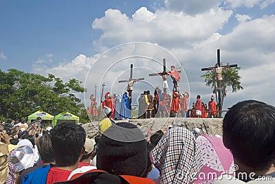 Crucifixion Editorial Stock Photo