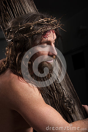 Free Crucifixtion Portrait Stock Photos - 36675533