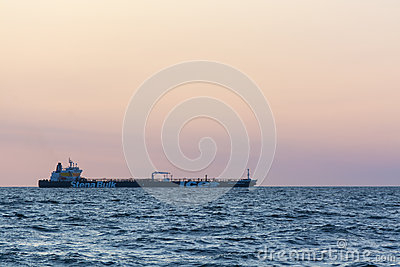 Crude oil tanker Stena Antarctica Editorial Stock Image