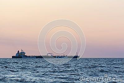 Crude oil tanker Stena Antarctica Editorial Stock Image