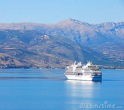 Cruise boat, greece
