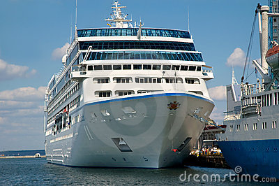 Cruise liner Nautica Editorial Stock Image