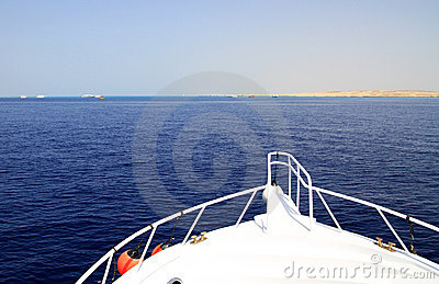 Cruise on Red Sea
