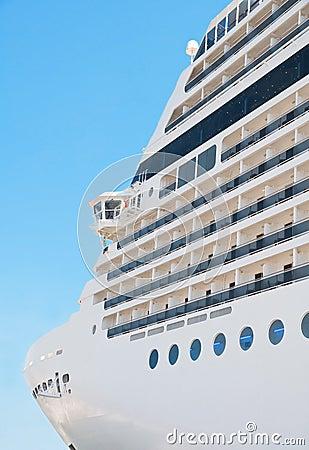 Free Cruise Ship. Stock Image - 15126171
