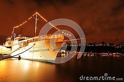 Cruise ship Editorial Stock Image