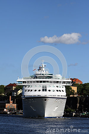Cruise ship Editorial Stock Image