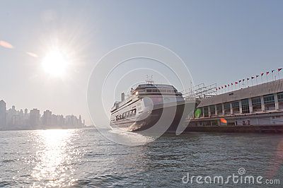 Cruise ship Editorial Image