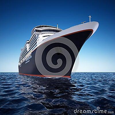Free Cruise Ship Royalty Free Stock Photo - 5123265