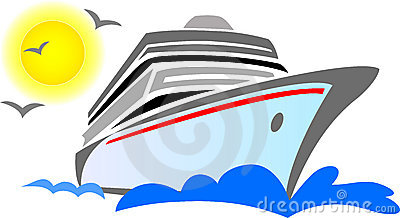 Cruise Ship Abstract/eps