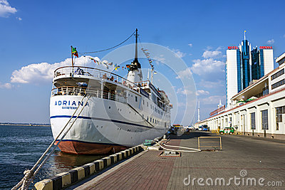 Cruise ship ADRIANA Editorial Photography